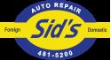 Sid's Auto Repair Logo